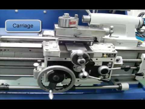 Parts Of An Engine Lathe Youtube