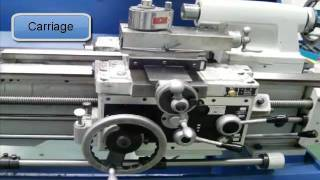 Parts of an Engine Lathe