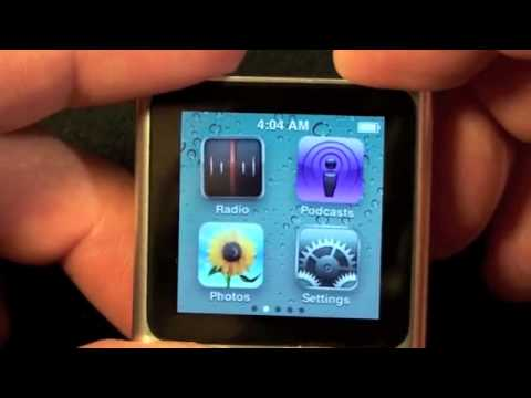 NEW iPod nano 6th Gen Review - Buy the cheapest ipod
