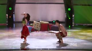 Amy and al star Alex  So you think you can dance season 10 top 6