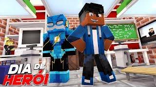 Minecraft: DIA DE HERÓI - SALA DE ARMADURAS DE SUPER HERÓI #04