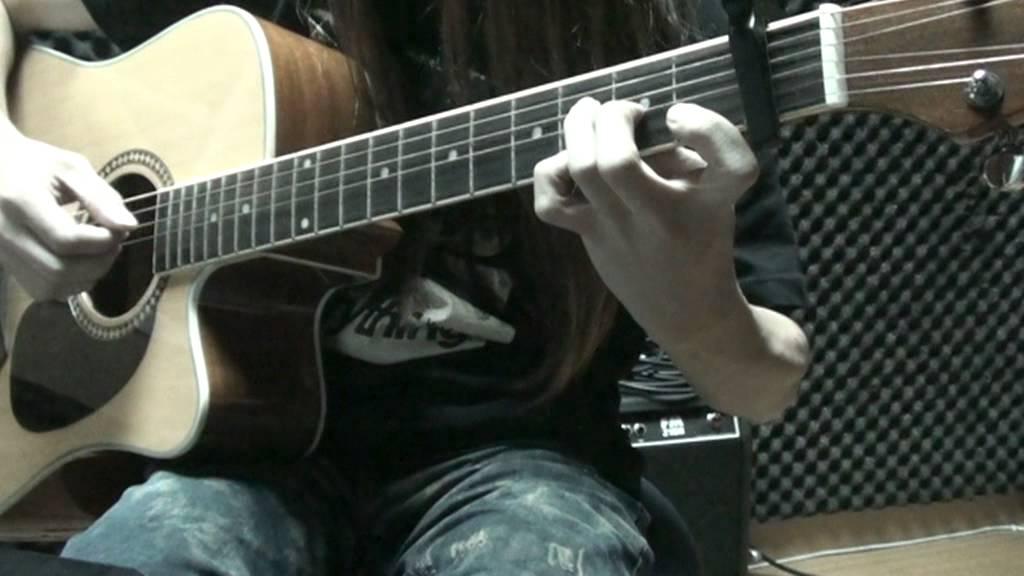 Mr. 昨天 木結他 acoustic guitar 獨奏 chord solo finger style cover by Eric Lo - YouTube