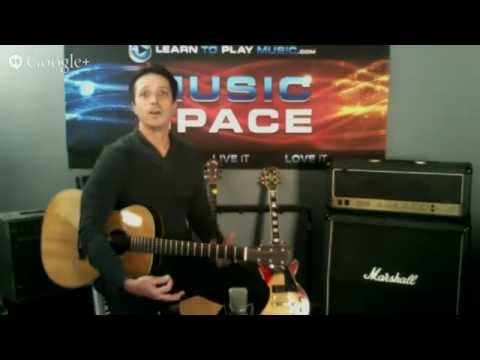 Music Space Pilot Episode - Guitar Fingerstyle & Strumming Lessons