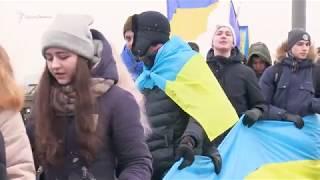 Крымчане стали частью «цепи единства» в Киеве