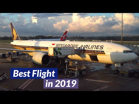 TRIP REPORT | Singapore Airlines 777-300ER (ECONOMY) | Sydney To Singapore | A REAL 5* FLIGHT!