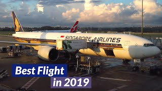 TRIP REPORT   Singapore Airlines 777-300ER (ECONOMY)   Sydney to Singapore   A REAL 5* FLIGHT!