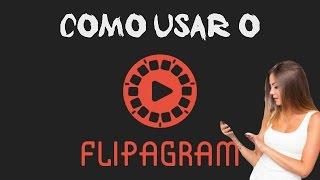 Tutorial Flipagram para criar vídeos com slides de fotos para Instagram
