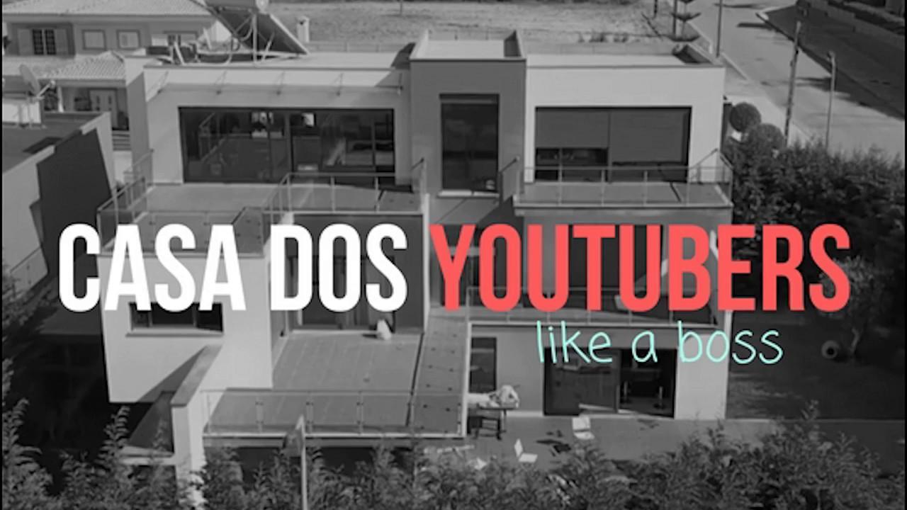 Casa Dos Youtubers Portugueses Ep1 Apresentação Youtube