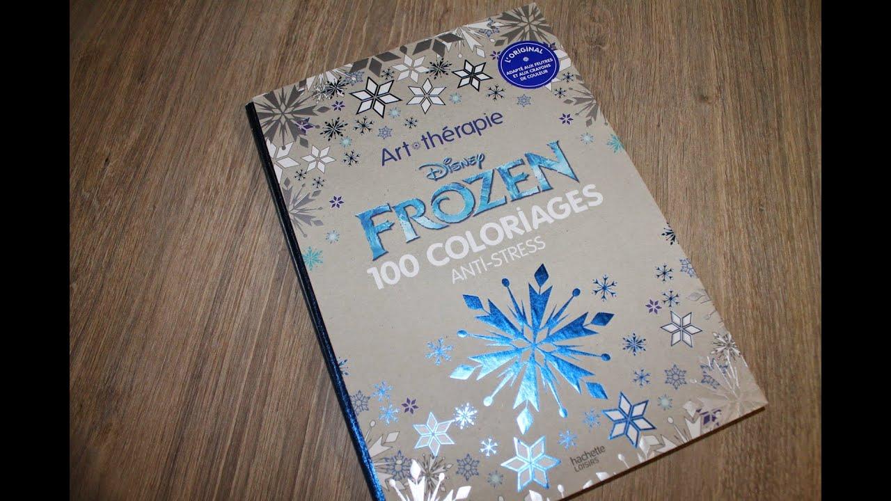 Art th rapie coloriage disney frozen youtube - Frozen coloriage ...