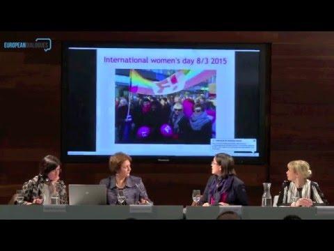 European Dialogues: Marina Calloni, Kristin Tran, Alexandra Byröd, Izaskun Landaida