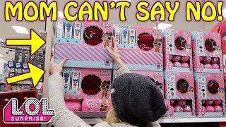 MOM CAN'T SAY NO! SHOPPING FOR L.O.L. SURPRISE UNDER WRAPS WAVE 2!