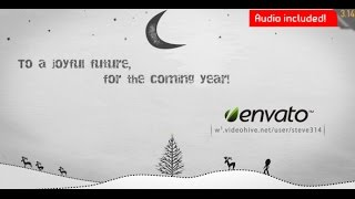 Inkman Presents Xmas & New Year's Greetings (ae) ( Videohive After Effects Template )