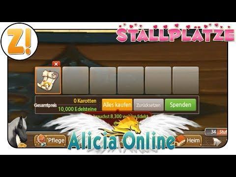 Alicia Online: Stallplätze...toll...oder!??? | ZUCHT | Let's Play [DEUTSCH]