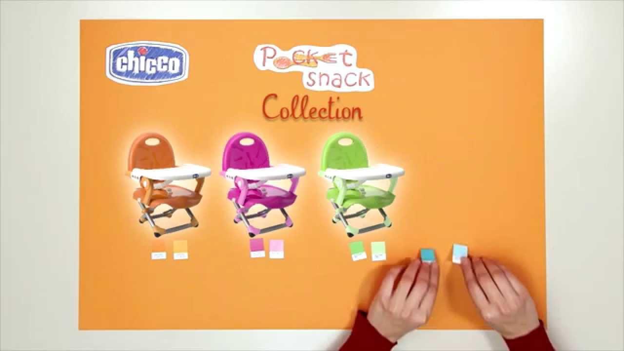 Rehausseur Pocket Snack Par Chicco Youtube