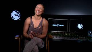 SONYA BLADE voiced by Ronda Rousey Behind The Scenes Mortal Kombat 11