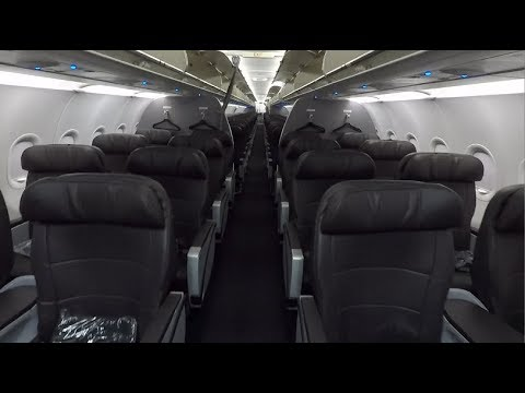 American A321 Cabin Tour