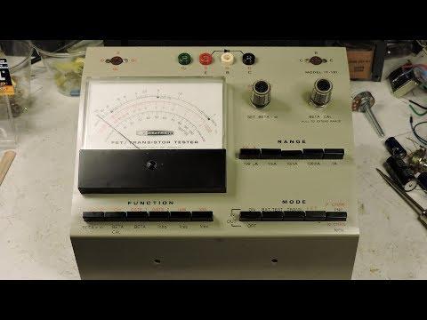 Heath Kit IT-121 FET/Transistor Tester