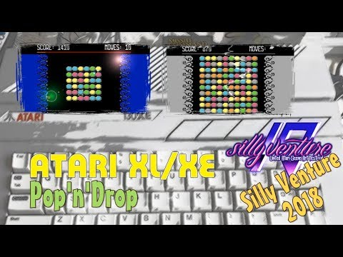 Atari XL/XE -=Pop'n'Drop=-
