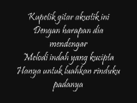 Aizat  Lagu Kita  wlyrics