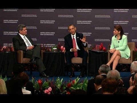 President Obama Speaks at Forum on Sustainable Economic Development