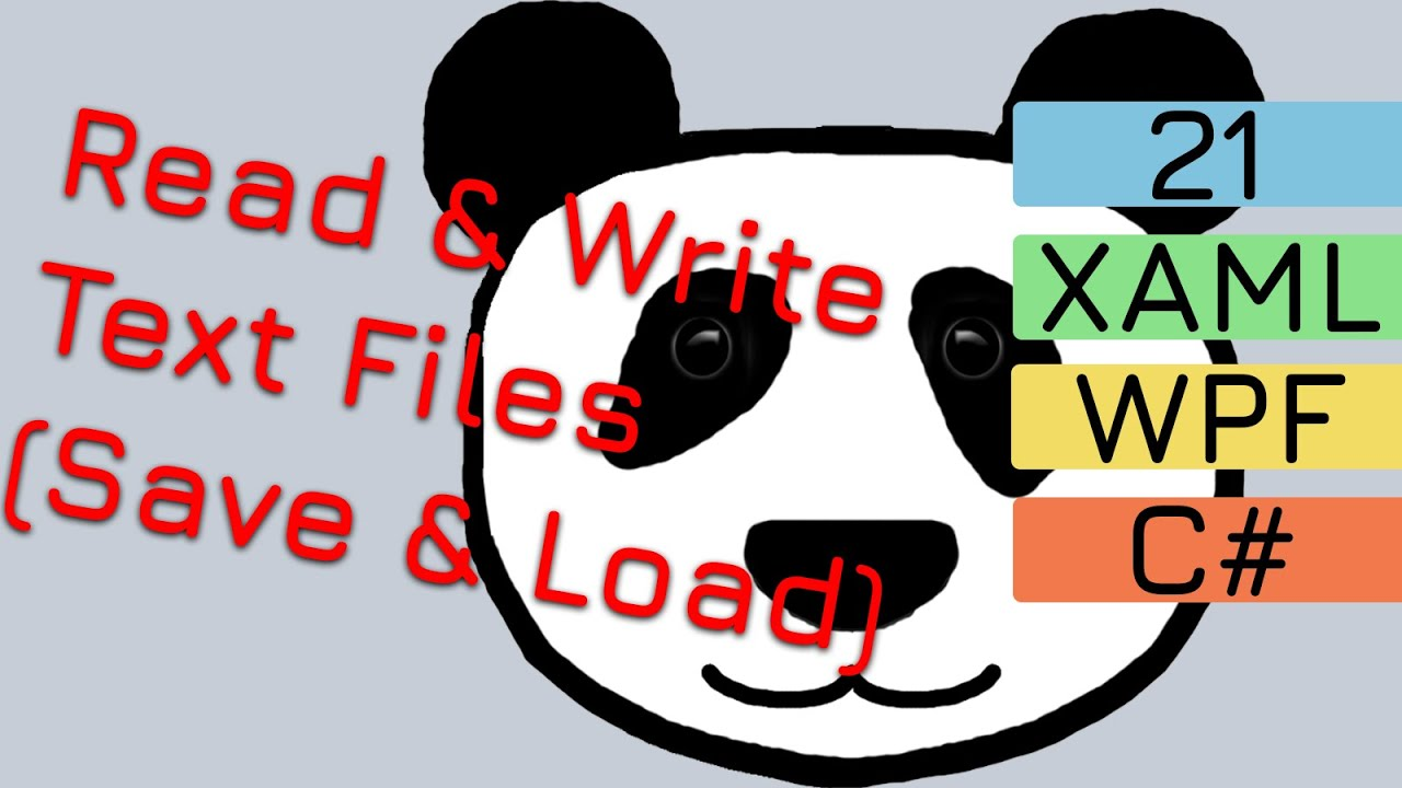 21. Write to and Read from Text Files (Save and Load) | C# Game Pet