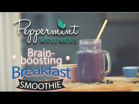 My Brain-Boosting Breakfast Smoothie
