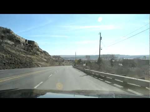 Billings, Montana: From the Airport through downtown to the South Side