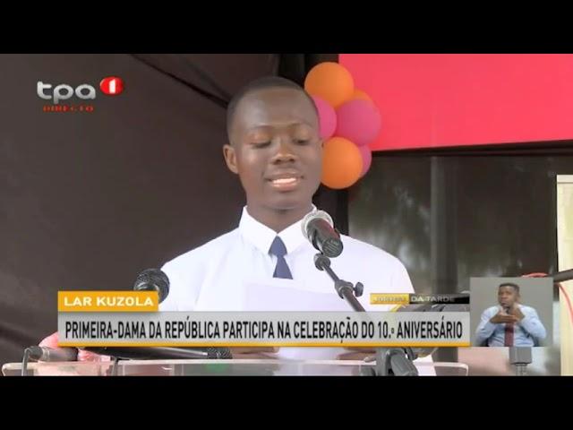 Fundação Lwini 10 Anos no Kuzola e com o Kuzola