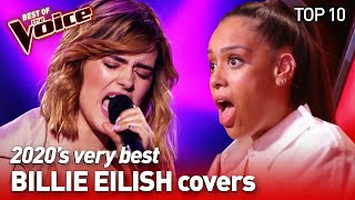 Download lagu incredible BILLIE EILISH songs in the voice #2 | TOP 10