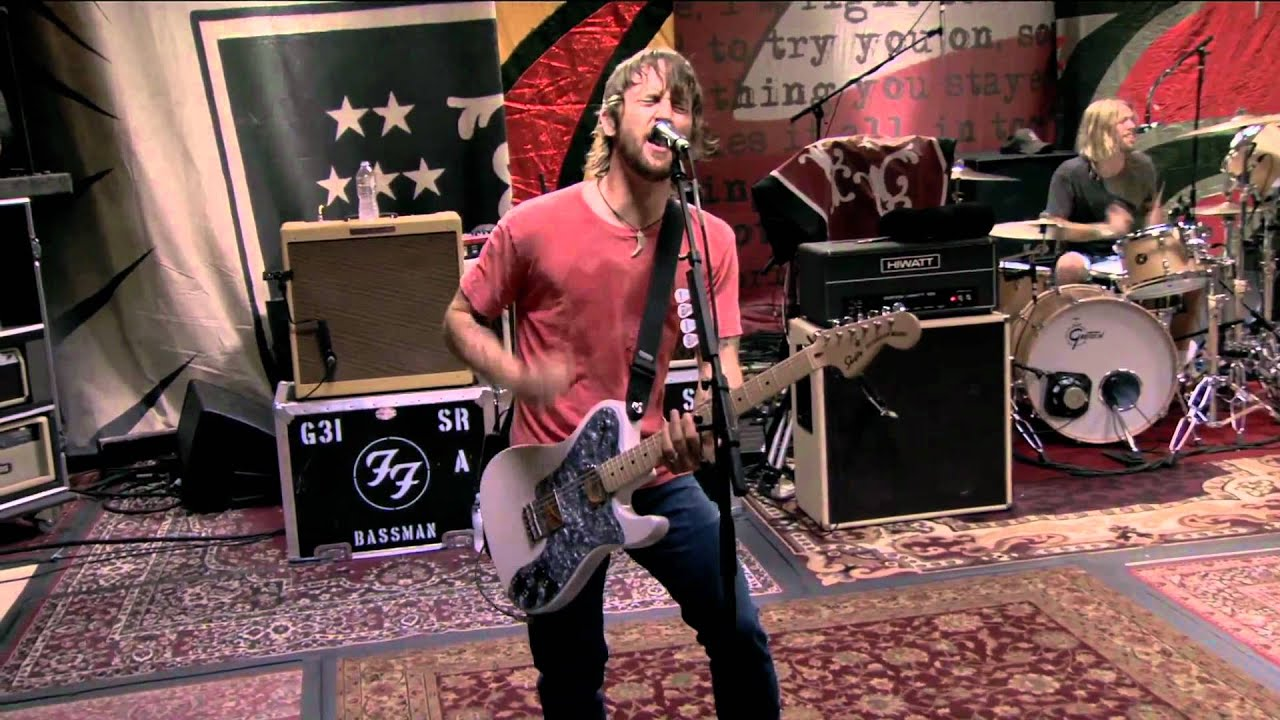 Foo Fighters 8 A Matter Of Time Live Studio 606