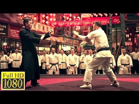 Ip Man vs Karate Master (Wing Chun vs Karate) Ip Man 4 HD