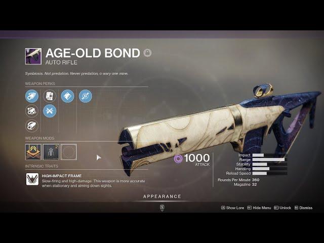 Weapon: Destiny2