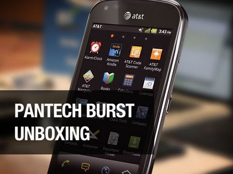 Pantech Burst Unboxing - Affordable LTE