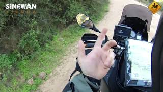 BMW F800GS, Adventure in South Africa. The Baviaans Road