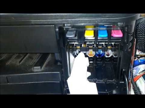 how to fix a printhead  (brother mfc j series)