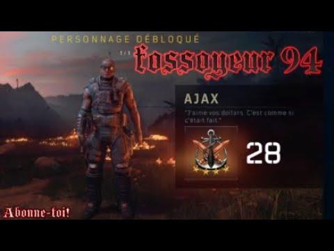 COMMENT DÉBLOQUER AJAX BLACKOUT BO4