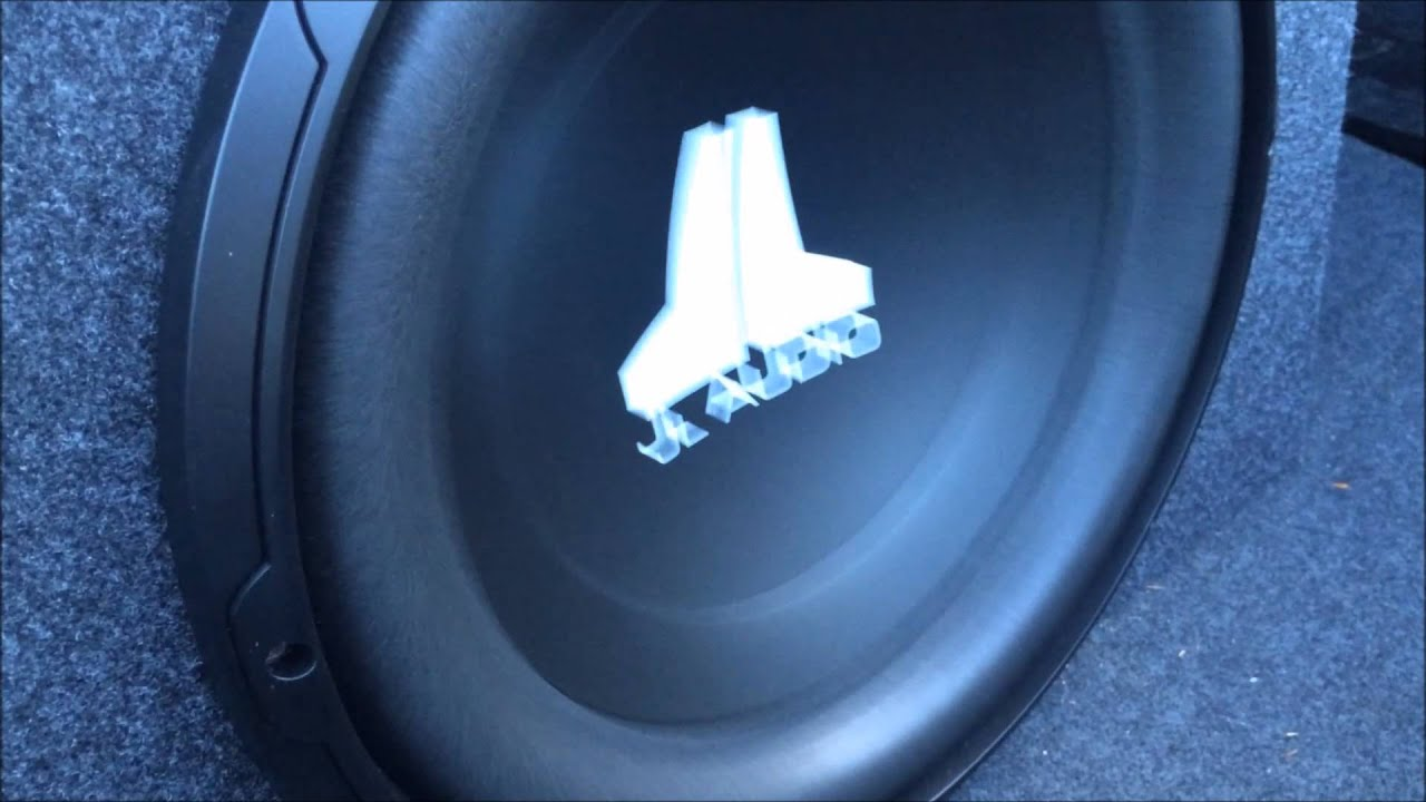 Jl Audio 15 Subwoofer With My Dual 10 Subs Youtube Inch