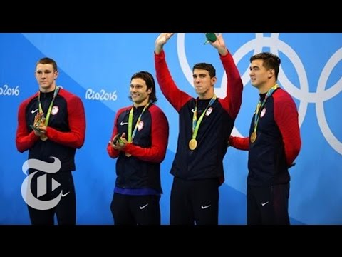 U.S. Swimmers React to Robbery of Teammates | Rio Olympics 2016 | The New York Times