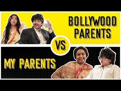 Bollywood Parents vs My Parents | MostlySane
