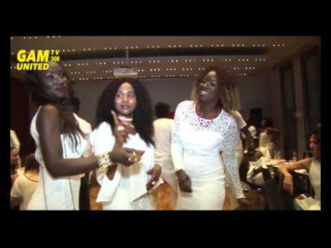 GAM UNITED TV SHOW ALL WHITE PARTY STUTTGART 2017