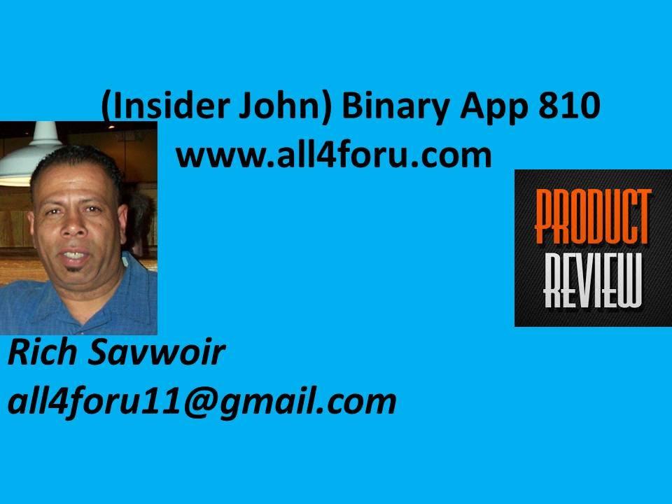 Binary option app 810