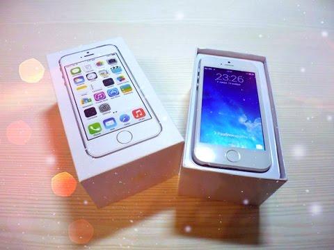 Посылка из Китая № 36 ( IPhone 5S (ЗА 85 $ - 32GB) Самая дешевая и хорошая копия ! )