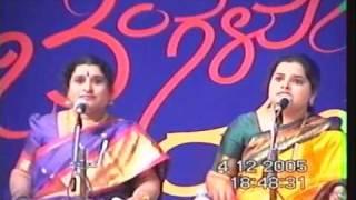 Dr.Nagavalli Nagaraj & Ranjani Nagaraj-Mother daughter duo-Sri Mahaganapathim-Mysore Maharaja-Athana