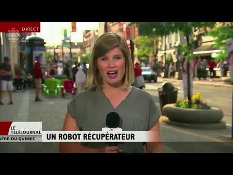 Reportage Radio-Canada sur Waste Robotics