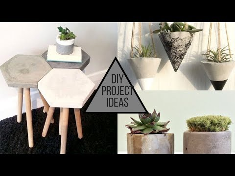 2019 Cool Cement DIY Projects Ideas