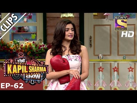 Unbelievable! Look What Alia Bhatt did on The Kapil Sharma Show - 26th Nov 2016