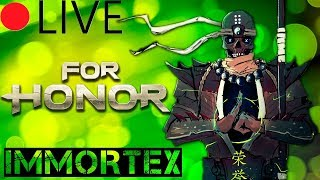🔴[LIVE] For Honor Marching Fire! Монахо-марафон