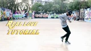 DANCE TUTORIAL NO 1 | REAL LOVE | OLD SCHOOL HIP HOP | V COMPANY