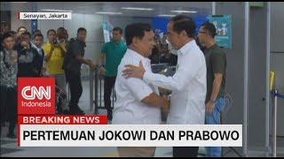 Momen Pertemuan Jokowi-Prabowo dari Berpelukan Hingga Ikrar Tak Ada Lagi Cebong-Kampret