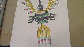 How to draw Pokemon: No.561 Sigilyph